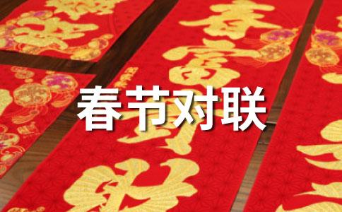 政府机构春节对联锦集
